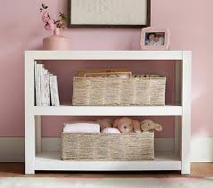 parsons 2 shelf bookcase pottery barn kids