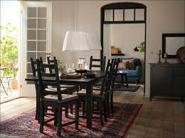 dining room amazing round dining table set with leaf extension 8