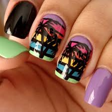 summer nail art ideas salons in miami nails pinterest miami