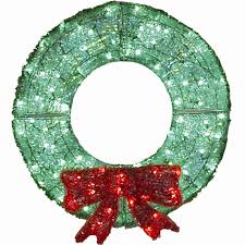 lighted christmas wreath 36 led acrylic wreath