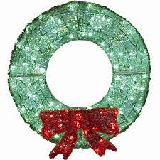 36 led acrylic wreath