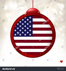 merry flag usa on stock vector 742366825