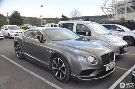 bentley coupe 2016 bentley continental gt v8 s 2016 3 april 2017 autogespot