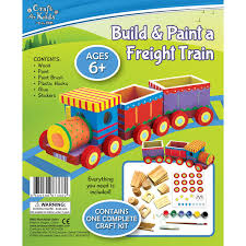make your own freight train by craft for kids bms wholesale
