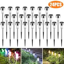 what is the best solar lighting for outside best solar lights for outdoor pathway 24 brightest led stake light set for walkway patio path lawn garden yard decor waterproof seal large led