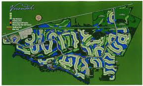Map Ft Myers Fl Verandah Club Trail Map