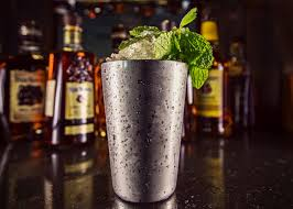 mint julep cocktail how to make big batch mint juleps diy network blog made