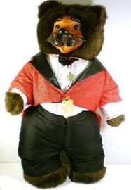 wooden faced teddy bears robert raikes jointed teddy wood 9 5453 applause