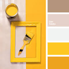 yellow paint color palette ideas
