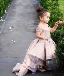 flower girl dress glitter gold the shoulder high low flower girl dress for