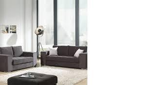 ensemble canapé canapés gris en tissu hcommehome