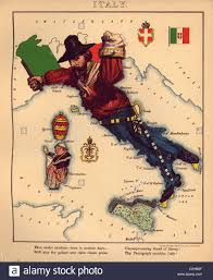 Map Of Genoa Italy by Anthropomorphic Map Of Italy Stock Photo Royalty Free Image