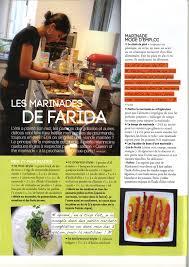 gazelle cuisine gazelle magazine les marinades de farida farida