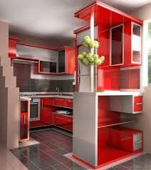 red gray kitchen ideas u2014 smith design simple but effective red