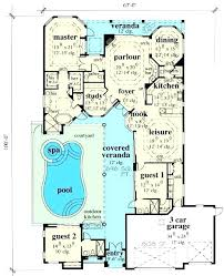 house plans with a pool large house plans with indoor pool contemporary home mansion pool