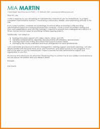 cover letter sample for program assistant 3 cover letter samples for administrative assistant mail clerked