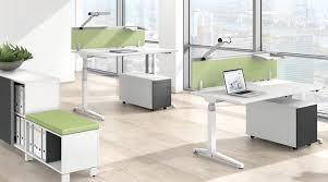 Stand And Sit Desk Canvaro Stand Upsit Desks Assmann Brombel Intended For Stand
