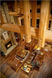 luxury log home interiors 44 best log home great rooms images on log cabins