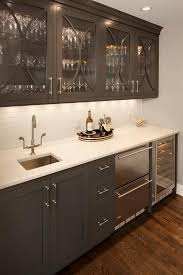Kitchen Cabinet With Glass Best 25 Wet Bar Cabinets Ideas On Pinterest Bar Areas Wet Bars