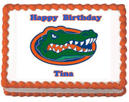 gators cake topper etsy