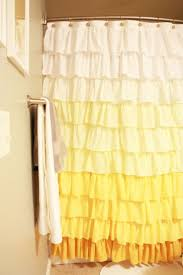 Anthropologie Ruffle Shower Curtain top 10 anthropologie inspired projects top inspired