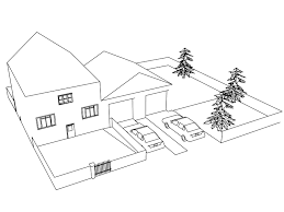 house home coloring pages wecoloringpage pinterest house