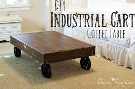 industrial coffee table diy