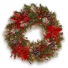 live christmas wreaths christmas wreaths christmas garlands bed bath beyond