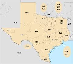 Arlington Tx Map List Of Texas Area Codes Wikipedia