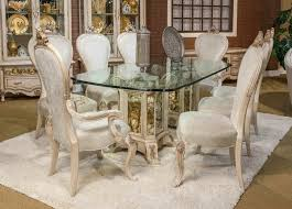 French Provincial Dining Room Sets De Royal 5 Pc French Provincial 102