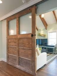 running into a glass door how to build a reclaimed wood sliding door how tos diy