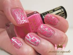 cosmetic cupcake barry m instant nail effects in pink fizz