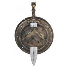 King Leonidas Costume Halloween Spartan Shield Ebay