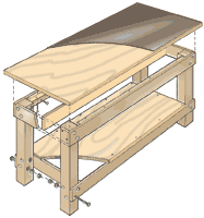 Plans For Building A Woodworking Workbench by Build A Basic Work Bench Fun Woodworking Projects Pinterest