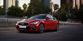 lexus is250 f sport vs infiniti q50 infiniti q50 red sport 400 first drive road u0026 track