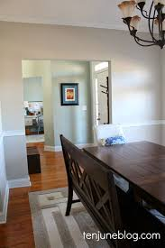 paint color for dining room ten june dining room paint makeover sherwin williams agreeable gray