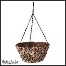 hanging planter basket seagrass hanging planter basket unique planters hooks and lattice