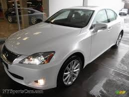 white lexus is 250 2009 lexus is 250 awd in starfire white pearl 029290