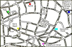 quakers in the city of london walk