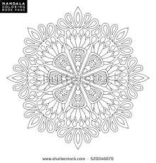 243 mandalas outline images flower mandala