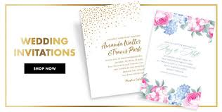 wedding card to custom wedding invitations banners party city