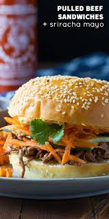 sriracha mayo nutrition slow cooker beef sandwich with sriracha mayo