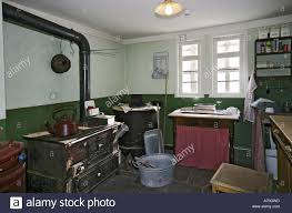 interior of an historical german farmhouse room at about the years