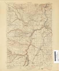 map of oregon showing madras oregon historical topographic maps perry castañeda map