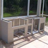 aluminum outdoor kitchen cabinets outdoor kitchen cabinets stainless steel polymer aluminum