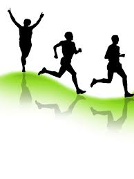 free runners silhouette men 2 stock photo freeimages com