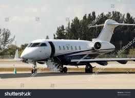 modern luxury private jet welcoming passengers stock photo