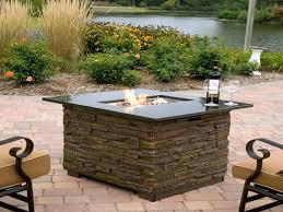 Plans For Patio Tables by Outdoor Dining Table With Built In Fire Pit Patio Table With Fire