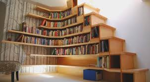 Floor To Ceiling Bookcase Plans 22 Floor To Ceiling Stair Bookcase Bespoke Bookcase Ideas