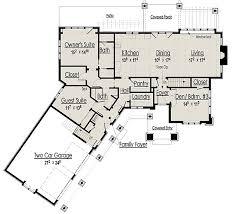 Craftsman Style Open Floor Plans 103 Best Floor Plans Images On Pinterest House Floor Plans